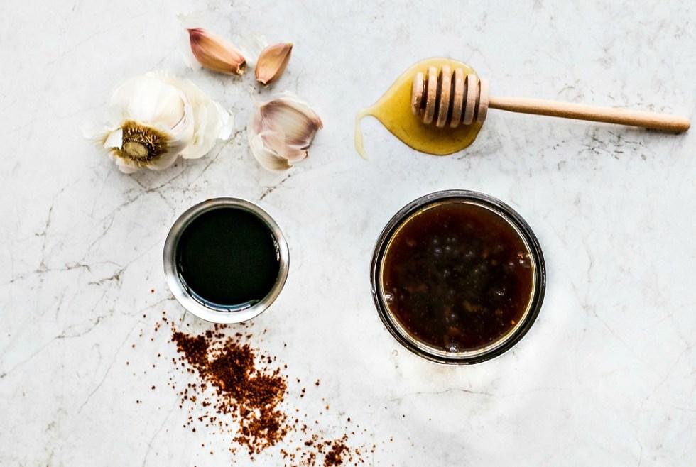 Teriyaki ingredients
