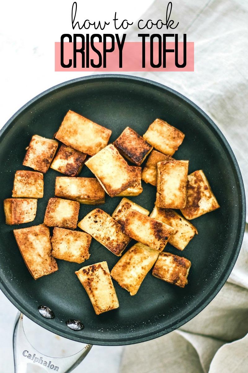 How to cook crispy tofu