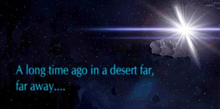 A long time ago in a desert far, far away