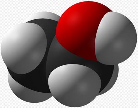 Alcohol-Molecule