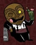 Drunken Tuxedo Tiki Man