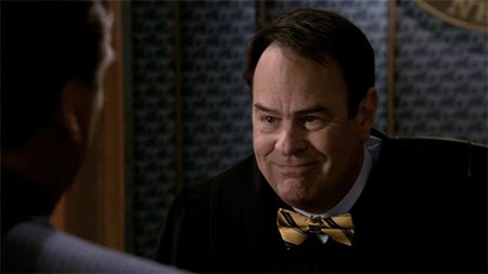 Dan Aykroyd as Judge Max Hunter