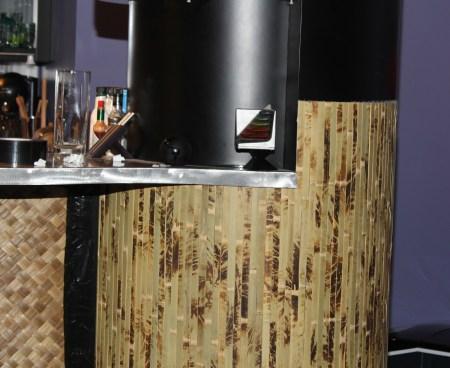 Bamboo Wainscoting Pillar Process