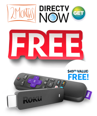 DirecTV Now Free Roku