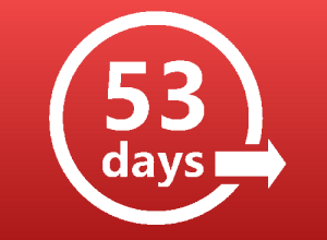 Photo of 53 Days I'll Never Get Back