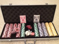 Mint Snuff Poker Chips