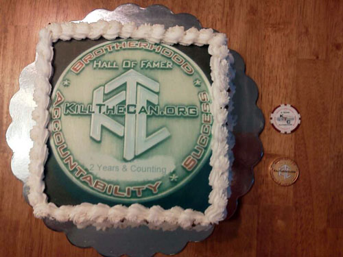 Hall of Fame Coin Cake