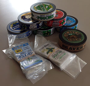 Oregon Mint Snuff Products