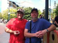 JBradley and AppleJack Disneyland