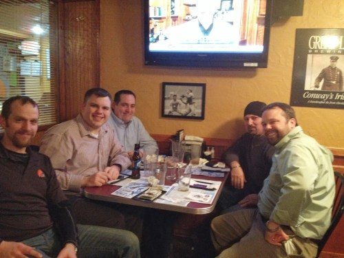 Smithat05, Steve1357, Miles & Chewie At The Winking Lizard