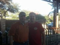 outdoortexan & CBird65 In Dallas, Tx @ Pappasito's Cantina