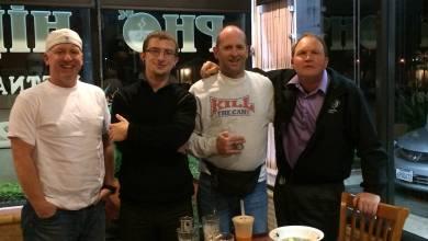 Photo of Seth, KO, Cmark and Ammqash In San Diego