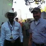 Bronc & Zillah Cowboy At The 4th of July Rodeo