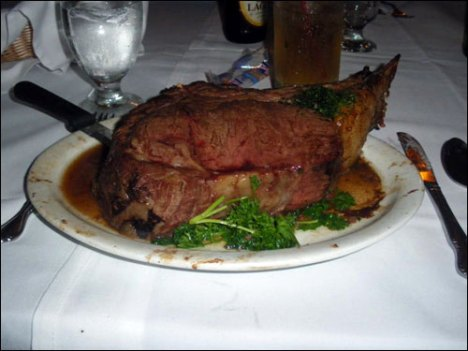 bhfive One Year Celebration - PRIME RIB The Seven Stars Way!