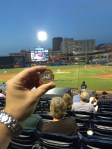 Chewie At The Akron Rubberducks Game
