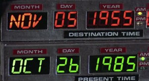 Back To The Future 1985