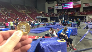 Photo of Nolaq at the YMCA Gymnastics Championships
