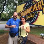 Cmark & SamCat!!! Visit Fuddruckers