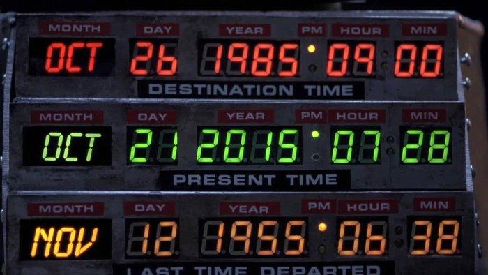 Back To The Future Circuit Board