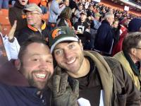 Chewie & LastChance - Browns Game 11.30.2015