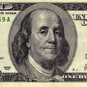 One Hundred Ben Franklin