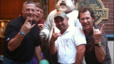 Photo of Klark, Mitch, Btdogboy & Volp – HORNS UP!!!