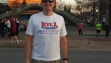 Photo of Mike_Land Ready To Rock The Chattanooga Marathon