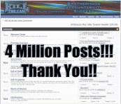 4 Million Posts