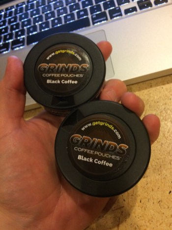 Grinds Black Coffee Cans