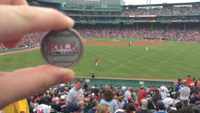 Photo of Quitting at Fenway With MonsterEMT