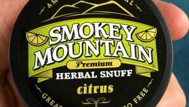 Photo of Smokey Mountain Citrus – Herbal Snuff Review