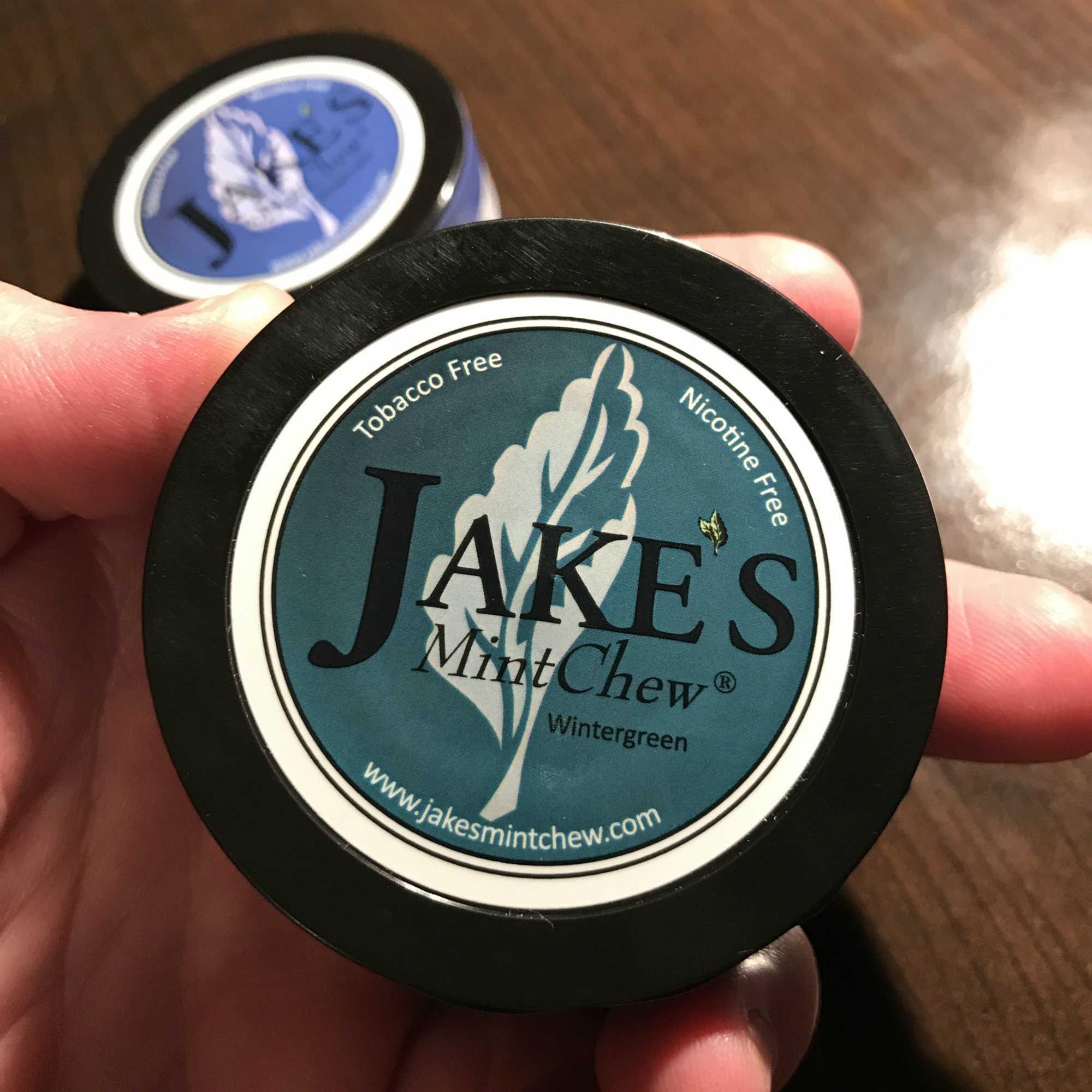 Jake's Mint Chew Pouches - Wintergreen