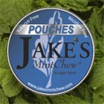 Jake's Straight Mint Pouch Label