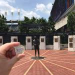 Chewie at Cleveland Indians Heritage Park