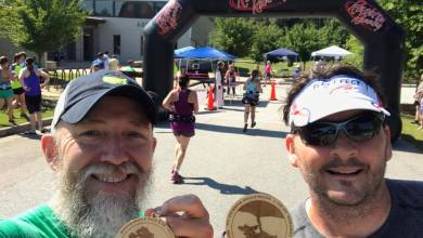 Photo of Roy and Hydro – 8 Mile Trail Run