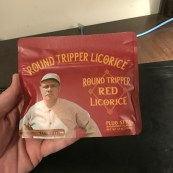 Long Ball Round Tripper Red Licorice 9