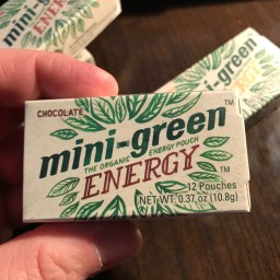 Mini-Green Energy Pouches - Chocolate