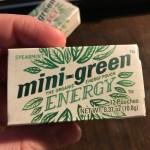Mini-Green Energy Pouches - Spearmint
