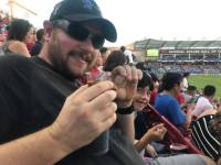 Broccoli-saurus - FC Dallas vs Houston Dynamo