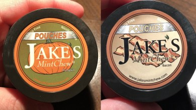 Photo of Jake's Mint Chew Seasonal Offerings – Pumpkin & Bacon!