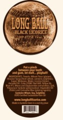 Long Ball Licorice Dip Style Package