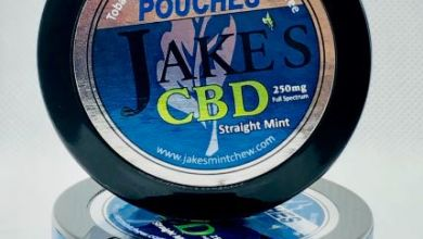 Photo of Now Available – Jake's Mint Chew CBD Straight Mint Pouches