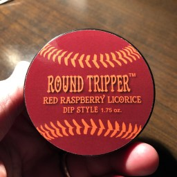 Long Ball Round Tripper Red Raspberry Dip Style 1
