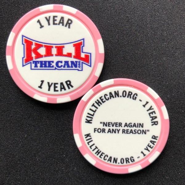 One Year Milestone Chip