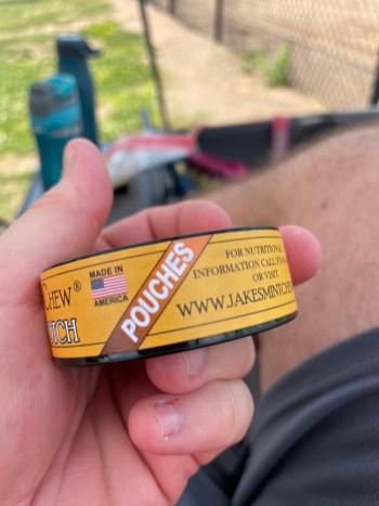 Jake's Mint Chew Butterscotch Pouches 3