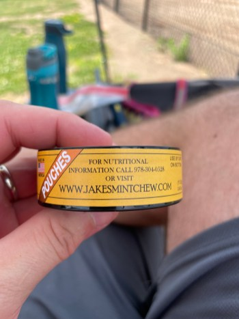 Jake's Mint Chew Butterscotch Pouches 4