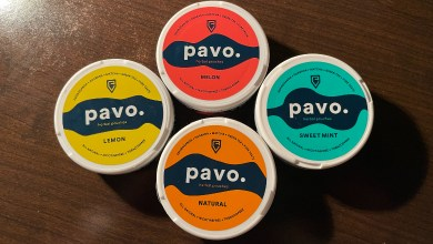 Pavo Herbal Pouches Feature