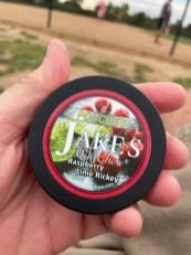 Jake's Mint Chew Raspberry Lime Rickey 1