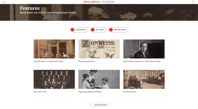 Read all about it! Stories from 131 years of Johnson & Johnson in the context of world history and society.