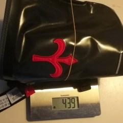 Gesamtgewicht inklusive Gurten und Innentasche